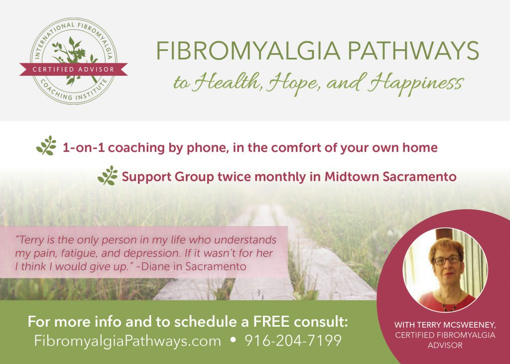 Fibromyalgia Support Group Postcard